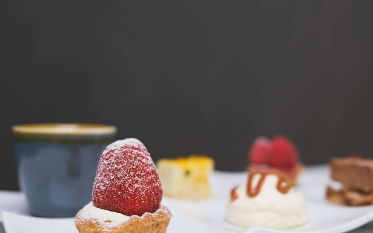 Mini pastries restaurant moulins les metz