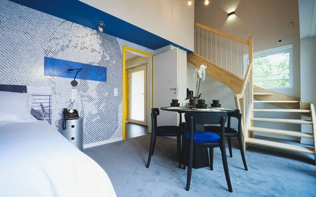 Lodge duplex romantic weekend in metz