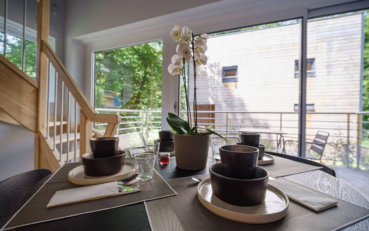 Lodge duplex unusual rental grand est