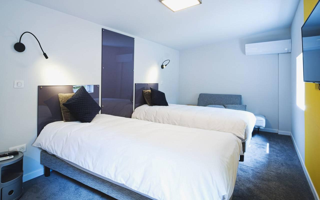 bedroom 2 beds lodge grand est