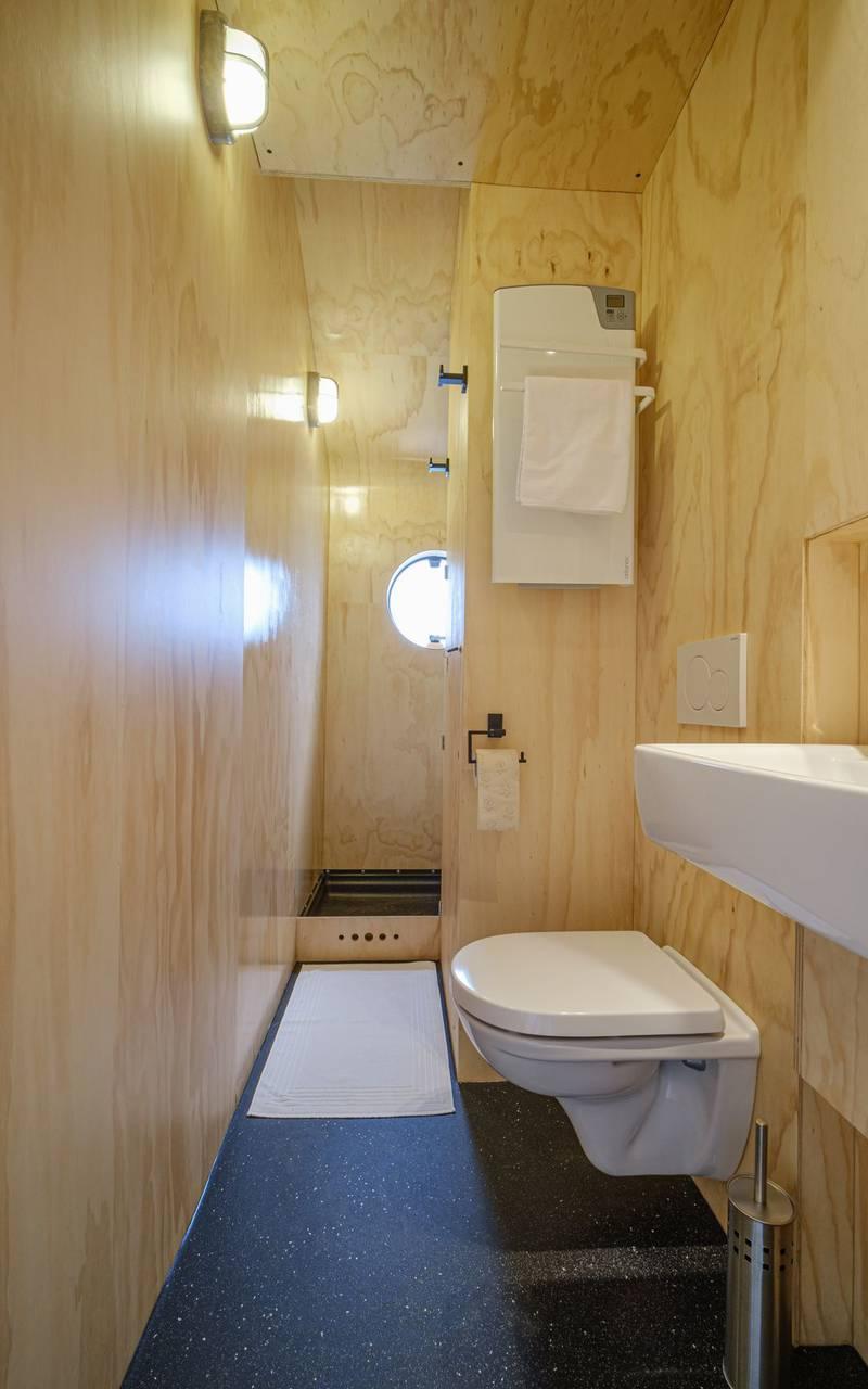Unusual large accommodation bathroom