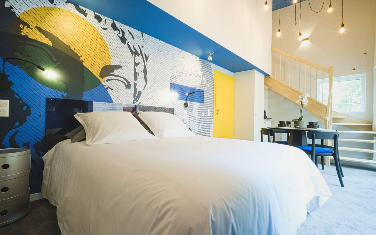 Chambre confortable logement insolite grand est