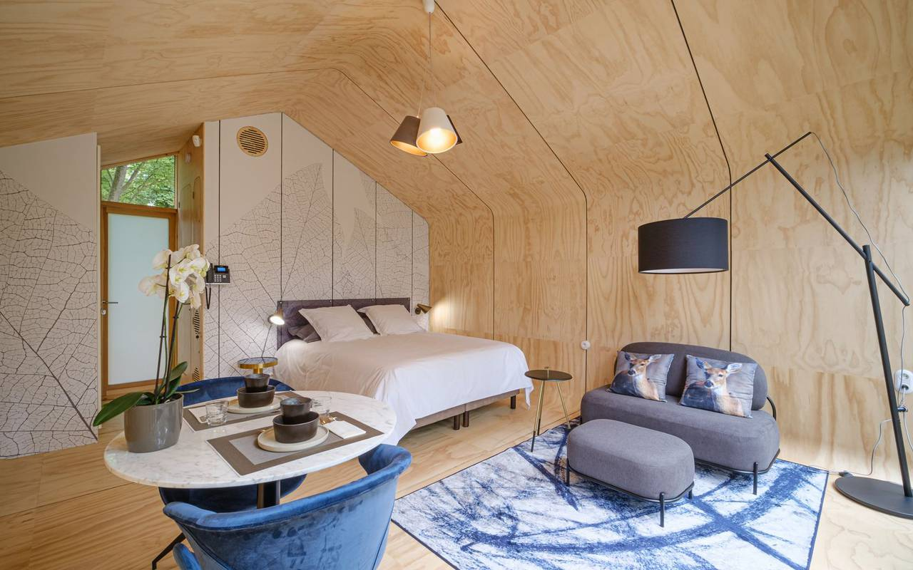 Lodge en bois hotel insolite moselle
